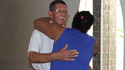Irmãos se reencontram em Ilha Solteira, depois de mais de 30 anos separados