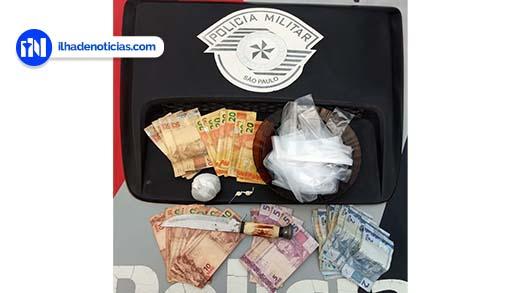 Casal é preso no Jardim Aeroporto por tráfico de drogas