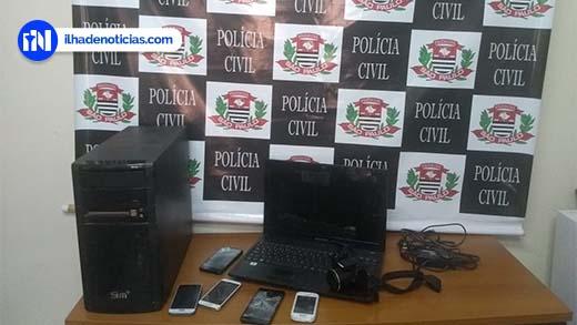 Polícia afirma que só perícia em equipamentos pode revelar se há mais vítimas de homem preso